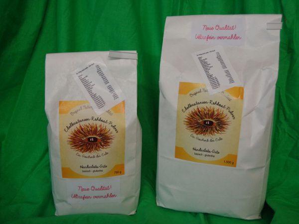 Naturgaben Edelkastanien-Rohkostpulver ultrafein vermahlen