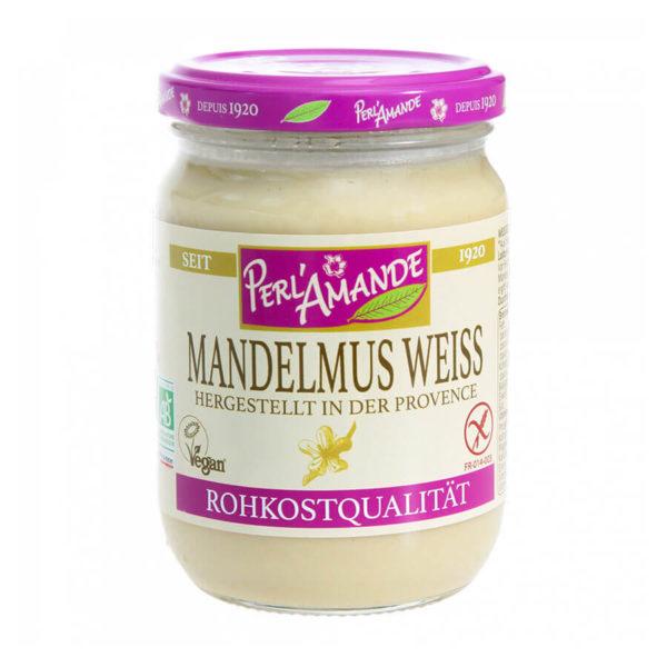 Mandelmus weiß Bio & roh, von Perl´Amande