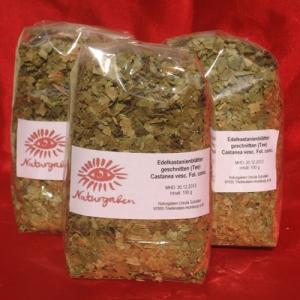 Naturgaben Edelkastanienblätter-Tee