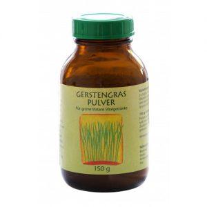 Gerstengras-Pulver Bio und Rohkostqualität