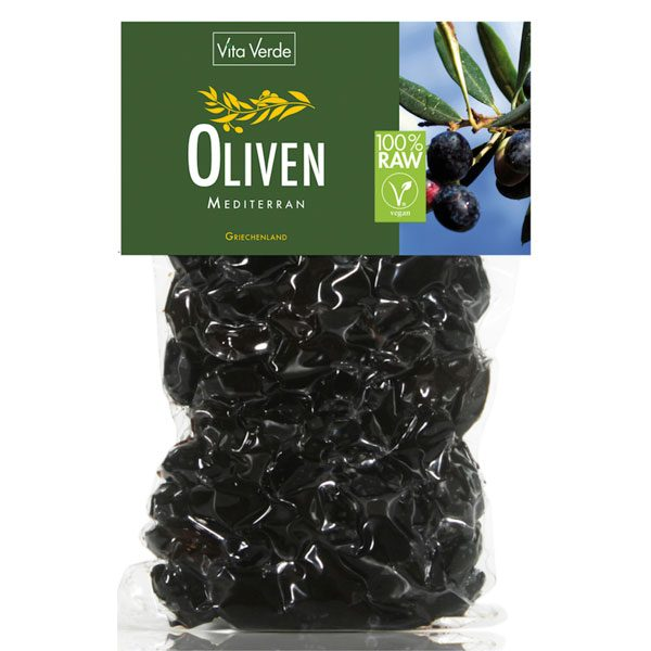 VitaVerde Bio Oliven Mediterran 200 g