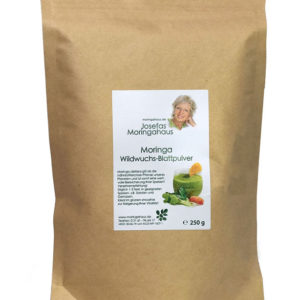 Moringa Blattpulver aus Wildwuchs